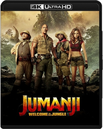 Jumanji: Przygoda w dżungli / Jumanji: Welcome to the Jungle (2017) MULTI.2160p.UHD.HDR.BluRay. REMUX.HEVC.TrueHD.Atmos.7.1-B89 | POLSKI LEKTOR, DUBB